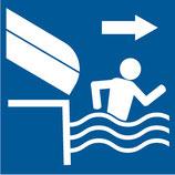 Pictogramme libérer le bassin