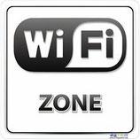 Panneau Wifi zone