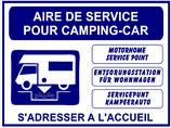 Aire de service camping car 4 langues