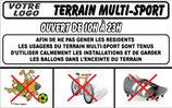 Terrain multi-sport en Français