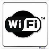 "Panneau logo Wifi ""nuage"""