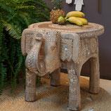 Zenza Beistelltisch Elefant