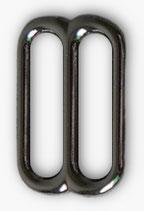 Verstellschieber Stahl, Gun Metal