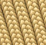 1m PPM-Seil Luxury Gold, 6mm oder 8mm
