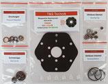0438100055 Mengenteiler FERRARI 400i 512 BB Reparatursatz K-Jetronic Aluminium