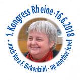 1. Vera F. Birkenbihl Kongress am 16. Juni 2018