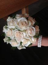 Brautstrauss Rosenhalbkugel