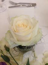 Rosenblüte Tischdekoration