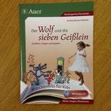 Der Wolf und die sieben Geisslein (Buch inkl. CD)