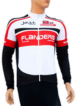 Flanders Trui, lange mouw, lange rits