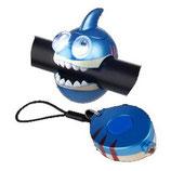 Crazy Stuff kinderfietsverlichting - haai