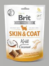 Brit Care Dog Functional Snack Skin&Coat Krill 150 g
