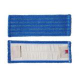 """Microfasermopp """"Blue Line"""" blau 45cm - mit Laschen"""