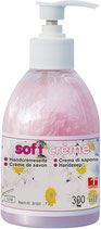 Soft crème 300ml / Soft citro 300ml /  in Spenderflasche mit Pumpe