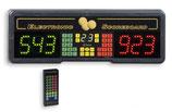 Elektronische Anzeigetafel Play 8 mit Infrarot Fernbedienung