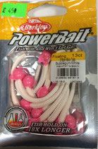POWER BAIT BERKLEY Цвет - Bubblegum/White