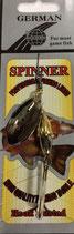 Блесна  GERMAN SPINNER ВЕРТУШКА вес 7 г., цвет 115 модель 5150-3#