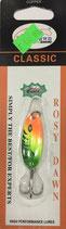 Блесна форелевая планирующая Rosy Dawn Classic 4 гр., 38 мм  Цвет 025, подложка - серебристый