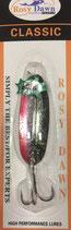 Блесна форелевая планирующая Rosy Dawn Classic 7 гр., 57 мм  Цвет 028, подложка - серебряный