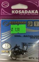 Крючки Kosadaka BAITHOLDER 3505 BN № 12