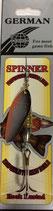 Блесна  GERMAN SPINNER ВЕРТУШКА вес 12 г., цвет B026 модель 5122-3#