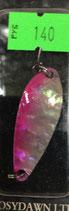 Блесна форелевая планирующая PURE (Rosy Dawn) 5 гр., 43 мм  Цвет 02 перламутр