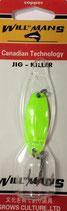 Блесна форелевая планирующая GROWS CULTURE WILL-MANS GC 38 мм, 4 гр  Цвет подложки: малиновый
