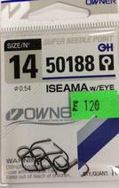 Крючки OWNER серия 50188 №14 ISEAMA