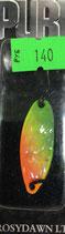 Блесна форелевая планирующая PURE (Rosy Dawn) 3,5 гр., 35 мм  Цвет 02 перламутр