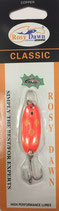 Блесна форелевая планирующая Rosy Dawn Classic4 гр., 38 мм  Цвет 220, подложка - лимонный