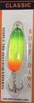 Блесна форелевая планирующая Rosy Dawn Classic 7 гр., 57 мм  Цвет 123, подложка - белый