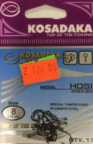 Крючки Kosadaka HOSI 3063 BN №8