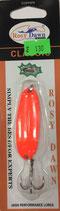 Блесна форелевая планирующая Rosy Dawn Classic 7 гр., 57 мм  Цвет 130, подложка - морковный