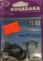 Крючки Kosadaka OTAKU 3303 BN № 2/0