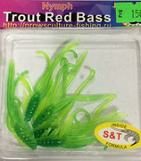 NYMPH Trout Red Bass (GC) Цвет - Fluo/Green