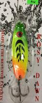 Блесна форелевая планирующая Rosy Dawn Classic 14 гр., 60 мм  Цвет 001, подложка - лимонный