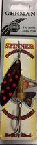 Блесна  GERMAN SPINNER ВЕРТУШКА вес 10 г., цвет 6# модель 5100-3#