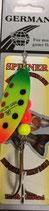 Блесна  GERMAN SPINNER ВЕРТУШКА вес 20 г., цвет 3# модель 5132-4#