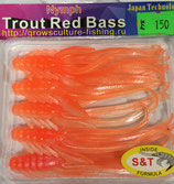 NYMPH Trout Red Bass (GC) Цвет - Orange/Silver