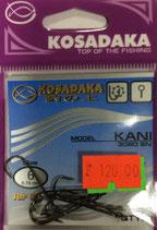 Крючки Kosadaka KANI 3080 BN № 6