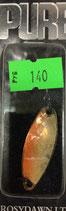 Блесна форелевая планирующая PURE (Rosy Dawn) 3,5 гр., 35 мм  Цвет 01 перламутр