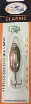 Блесна форелевая планирующая Rosy Dawn Classic 4 гр., 38 мм  Цвет 028, подложка - серебряный