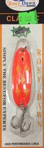 Блесна форелевая планирующая Rosy Dawn Classic 7 гр., 57 мм  Цвет 219, подложка - лимонный