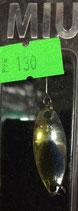 Блесна форелевая планирующая MIU (Rosy Dawn) 2,8 гр., 28 мм  Цвет 001
