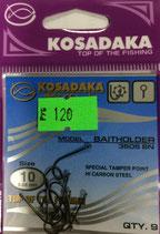 Крючки Kosadaka BAITHOLDER 3505 BN № 10