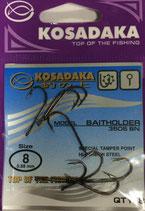 Крючки Kosadaka BAITHOLDER 3505 BN № 8