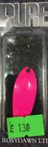 Блесна форелевая планирующая PURE (Rosy Dawn) 5 гр., 43 мм  Цвет 002
