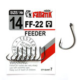 FEEDER FF-22 Крючок фидерный размер-14