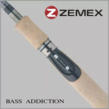 Спиннинг ZEMEX 'BASS ADDICTION S-602ML 1,80 m 3,0-12,0 гр