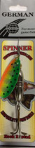 Блесна  GERMAN SPINNER ВЕРТУШКА вес 23 г., цвет 17# модель 5160-3#